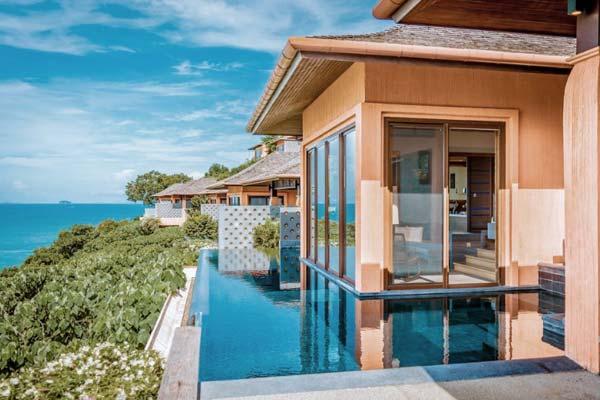 Room at the Sri Panwa Phuket Luxury Pool Villa Hotel in Thailand